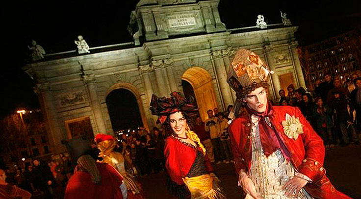Carnavales en Madrid