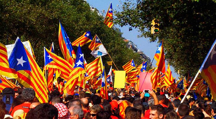 Diada nacional Cataluña