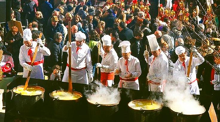 Fiesta de la Caldera Barcelona
