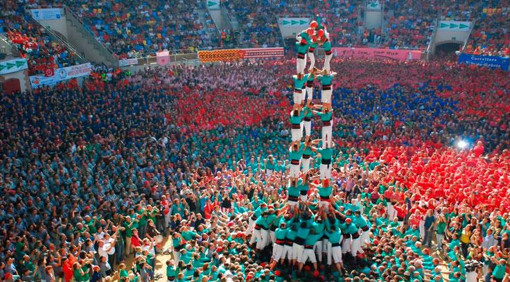 Fiestas de Castellers Barcelona