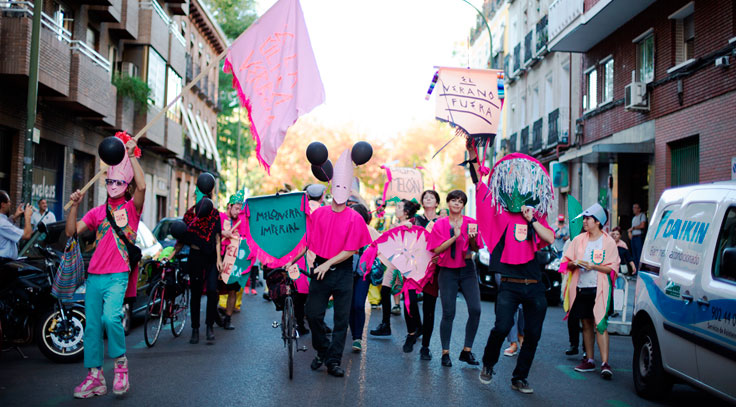 Fiestas de la melonera Madrid
