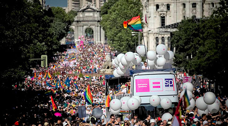 Fiestas del Orgullo LGTBI