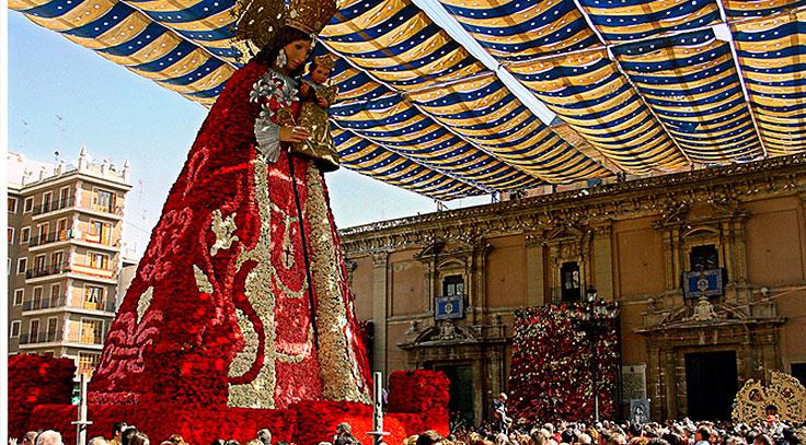 La virgen de los desamparados Valencia